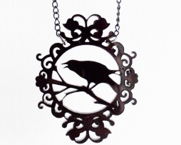 crowcameonecklace