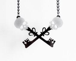 skull cross keys