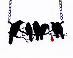 murderofcrows-necklace