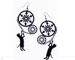 steampunk-cat-earrings2