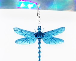 dragonfly choker blue