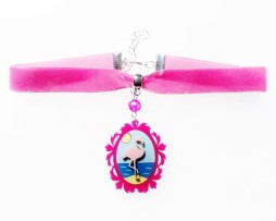 flamingo cameo choker2
