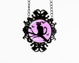 cat cameo ncklace