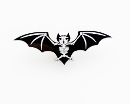 skele bat brooch 2
