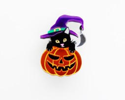 witchs cat brooch 2